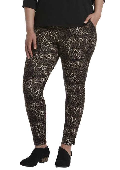 Plus Size 7/8 Leggings