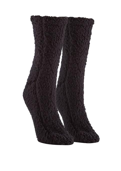 Furry Slipper Socks