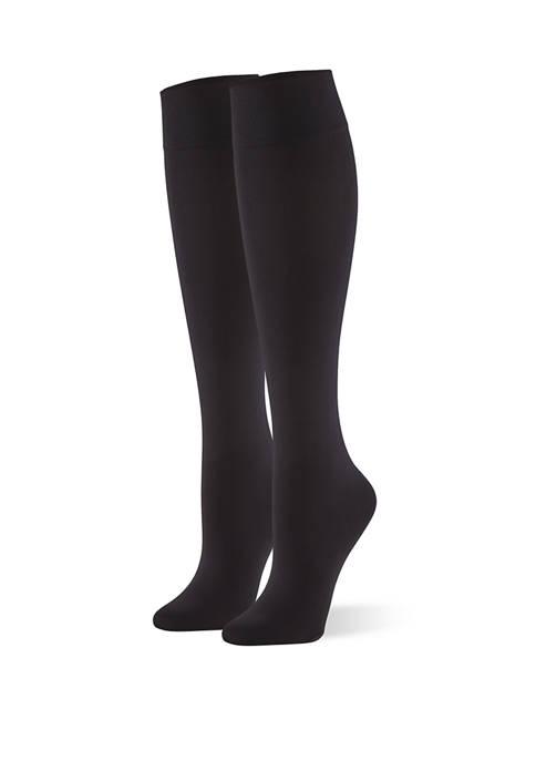 HUE® Cushioned Knee High Socks