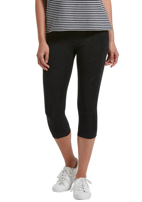 Reversible French Terry Ultra High Waist Capris