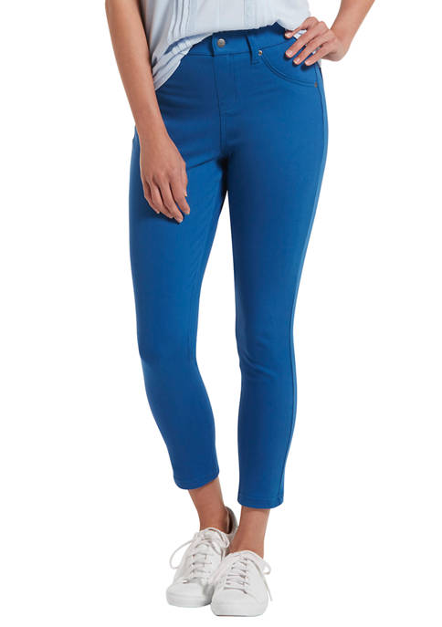 HUE® Womens Ultra Soft Denim Skimmer Leggings