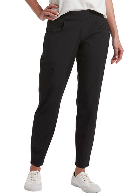 HUE® Travel Side Zip Pocket Leggings