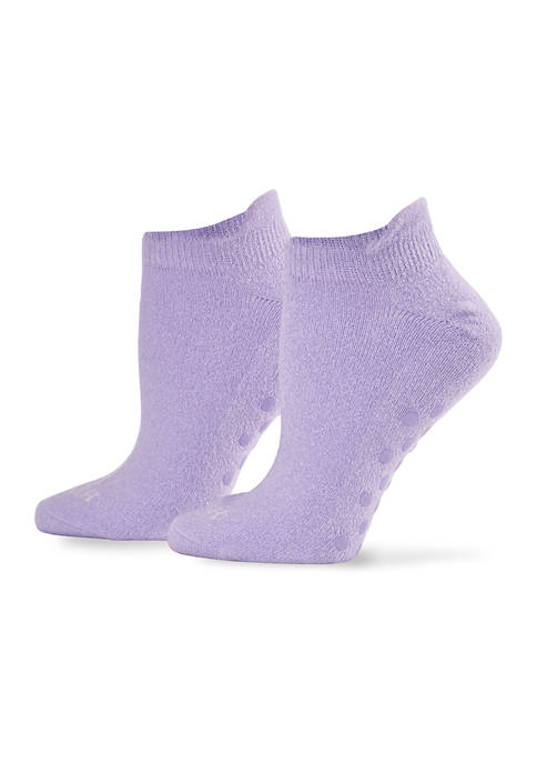 HUE® Day Dreamer Tab Back Sock with Grippers