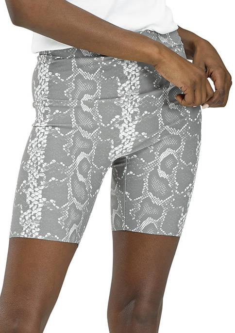 HUE® Womens Sleek Effects High Rise Bike Shorts
