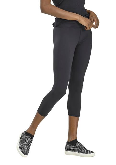 HUE® Womens Active Cool Breeze Capri Leggings