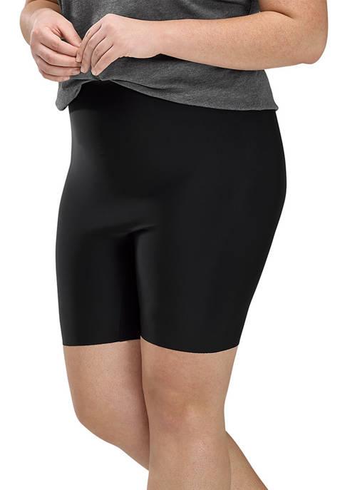 HUE® Womens Faux Leather Bike Shorts