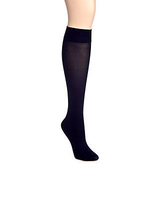 1ff313d63 HUE® Soft Opaque Knee High Socks