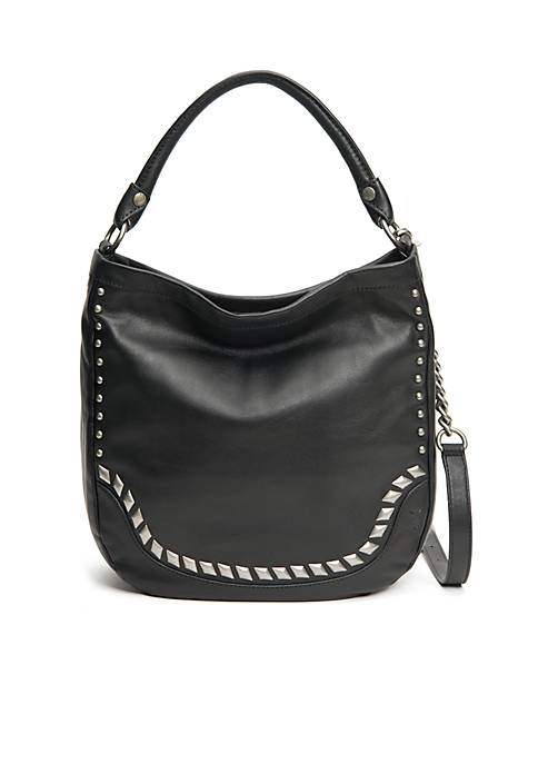 Frye Melissa Diamond Stud Hobo Bag