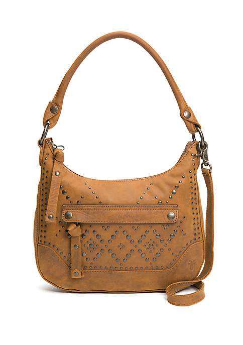 Frye Melissa Studded Small Zip Hobo