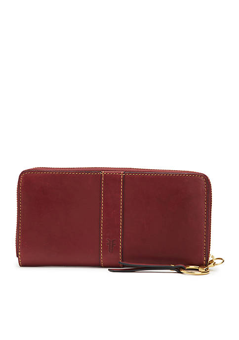 Frye Ilana Harness Zip Smooth Wallet