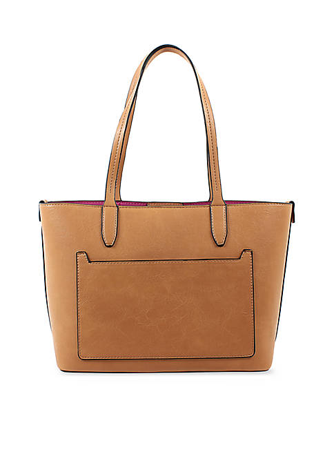New Directions® Cognac Loren Shopper Bag