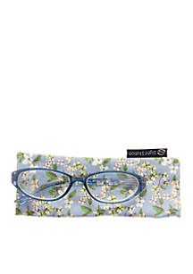 CMC by Corinne McCormack Annabelle Blue Reader Glasses with Case