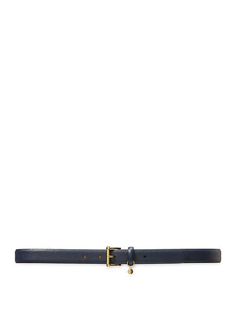 Stingray-Embossed Belt