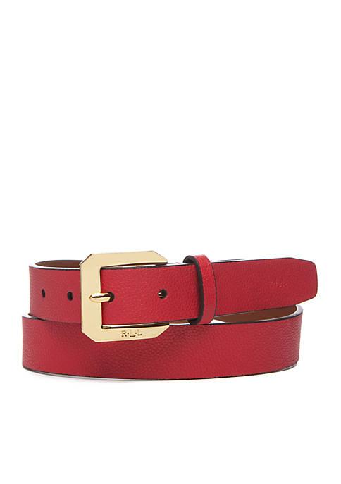 Lauren Ralph Lauren Emden Textured Belt