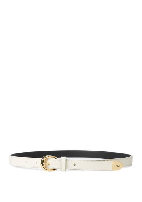 Lauren Ralph Lauren Bennington 2 Vanilla Belt