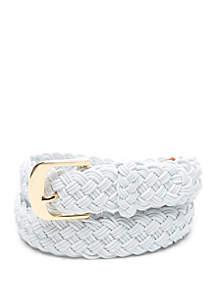 Lauren Ralph Lauren Woven Elastic Belt