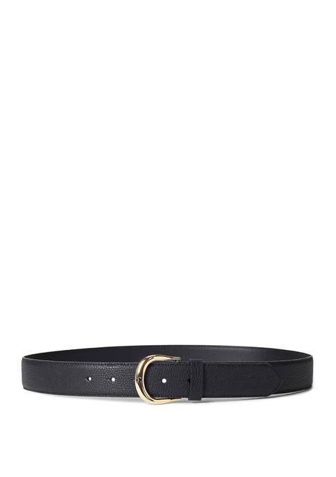 Lauren Ralph Lauren Classic Pebble Kenton 35 Belt
