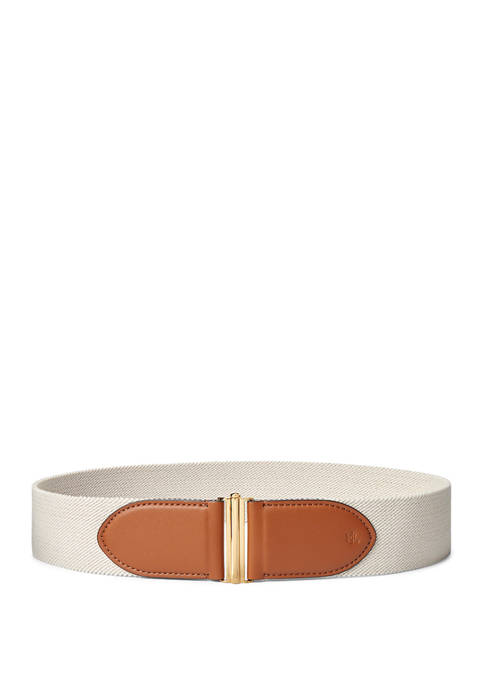Lauren Ralph Lauren Interlock Stretch Woven Belt