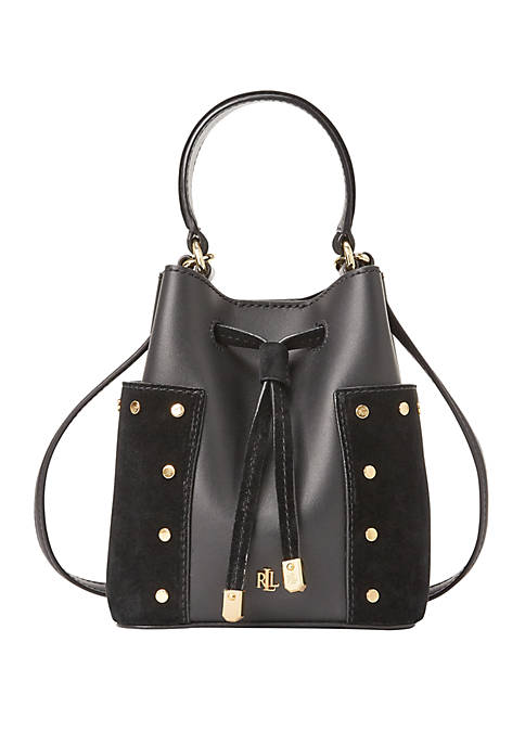 Lauren Ralph Lauren Debby III Leather Mini Bag