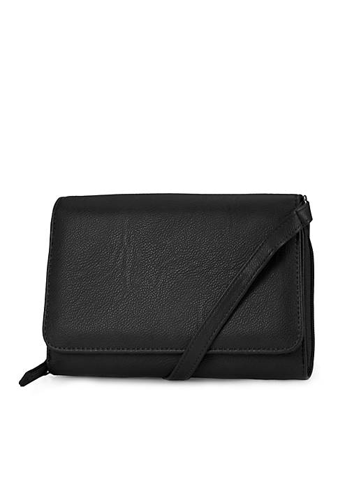 Better Than Leather Tech It Out Flap Organizer