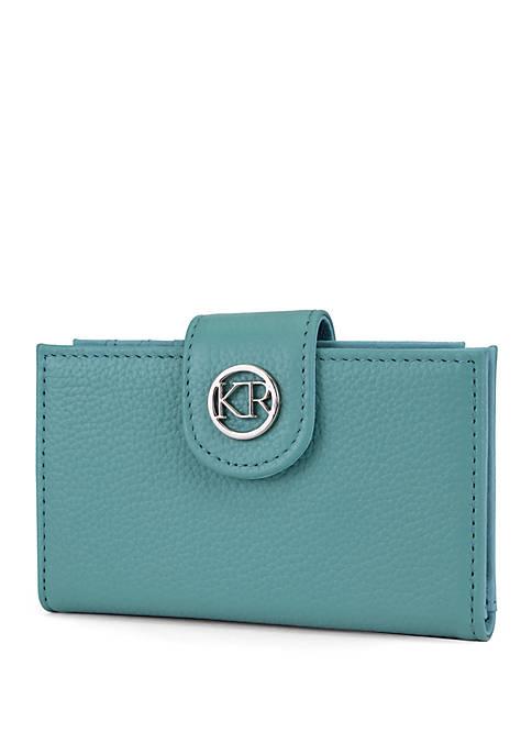 Kim Rogers® Saffiano Debbie Double Card Case