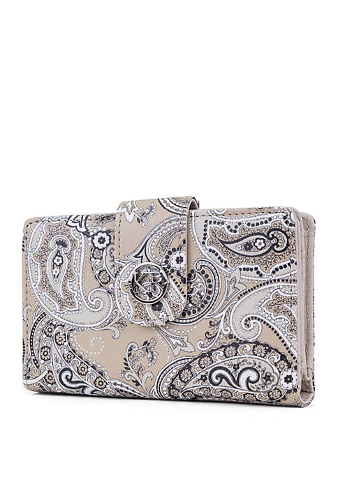Kim Rogers® Paisley Indexer Wallet