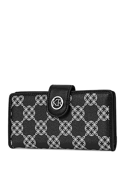Signature Slim Clutch with Tab