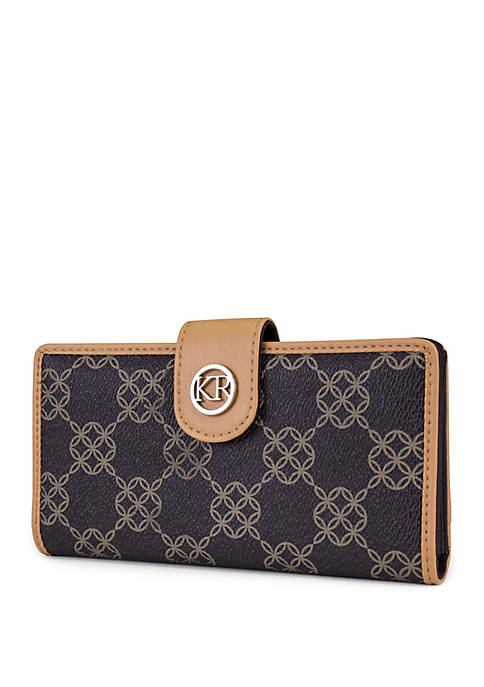 Kim Rogers® Signature Slim Clutch with Tab