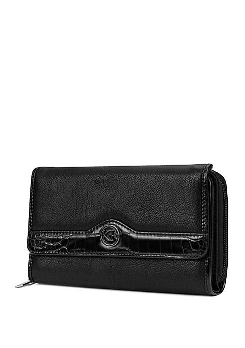 Crocodile Trim Essential Wallet