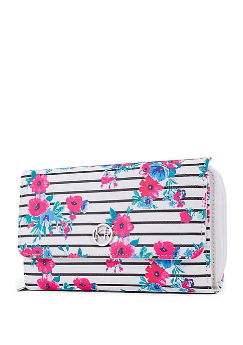Kim Rogers® Multi Floral Essentials Wallet