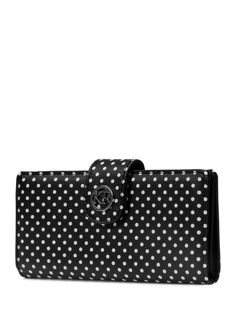 Kim Rogers® Slim Clutch Bag with Tab
