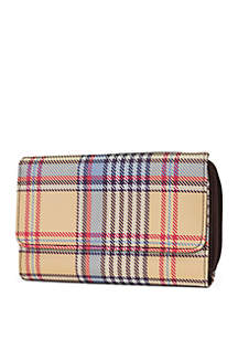 Kim Rogers® Chesterfield Plaid Essential Wallet
