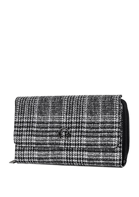 Plaid Essentials Boxed Wallet
