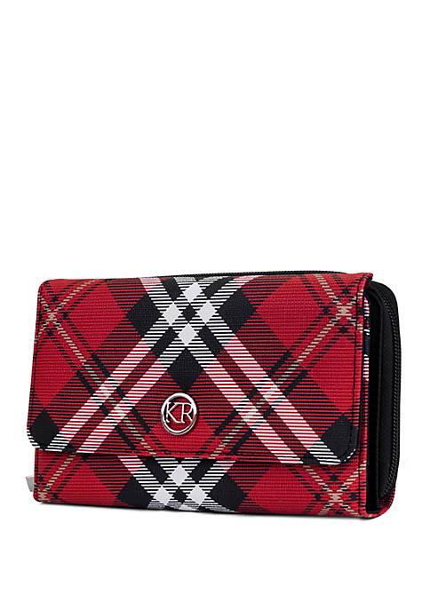 Kim Rogers® Plaid Essentials Boxed Wallet