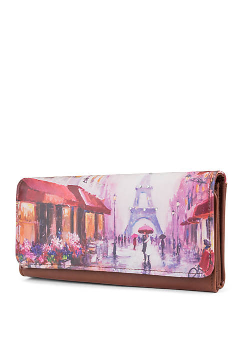 Rainy Day In Paris Filemaster Wallet