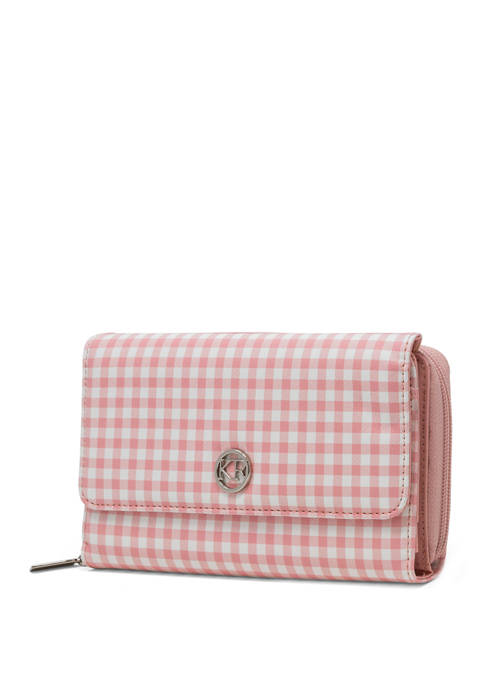 Kim Rogers® Gingham Essentials Wallet