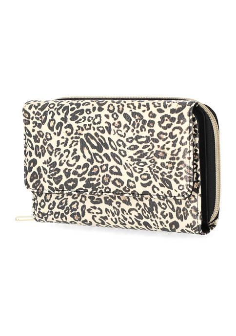 Kim Rogers® Leopard Print Essential Wallet