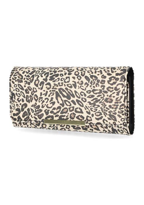 Kim Rogers® Leopard Print Filemaster Wallet
