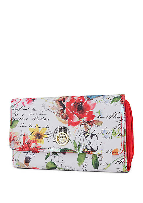 Kim Rogers® Poetic Floral Essentials Wallet