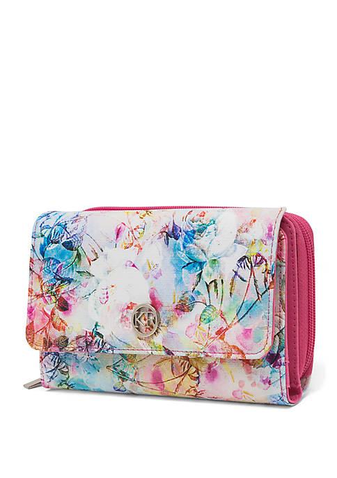 Kim Rogers® Floral Mirage Essentials Wallet