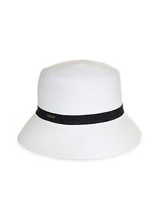 64c74189625787 Nine West. Nine West Feminine Minimalist Packable Microbrim Hat