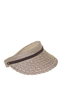 b02a5fdcc882f San Diego Hat Company Flower Beret · Nine West Packable Visor