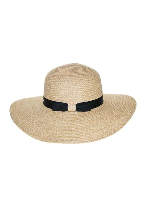 Nine West Classic Braid Super Floppy Hat