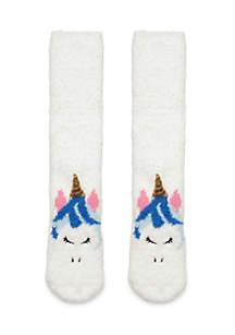 Unicorn Chamois Critter Socks
