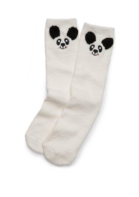 New Directions® Chamois Critter Polar Bear Socks