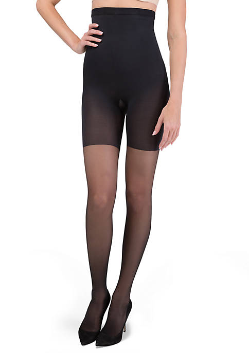 Red Hot by Spanx Shaping High-Waist Sheer Pantyhose