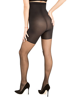 f85447d897e ... Red Hot by Spanx Shaping High-Waist Sheer Pantyhose