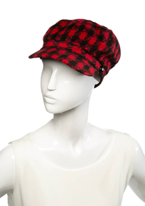 New Directions® Plaid Cabby Hat