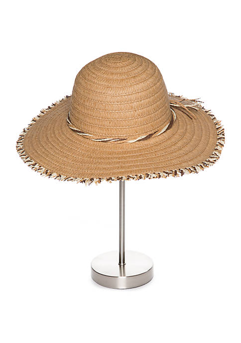 New Directions® Paper Floppy Hat With Fringe