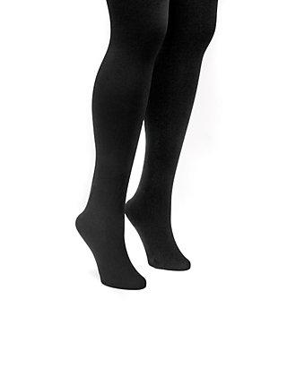 f8589e74fbb953 MUK LUKS® Women's Fleece Lined 2-Pair Tights   belk